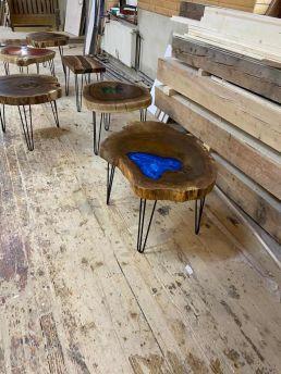 Stôl so živicou Stolárstvo Domino